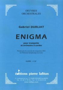 OEUVRE ENIGMA (ORCHESTRE)