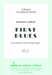 PARTITION FIRST BLUES (TROMPETTE)