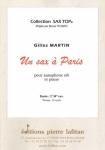 PARTITION UN SAX A PARIS (SAX SIB)
