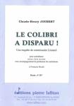 PARTITION LE COLIBRI A DISPARU !