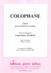 PARTITION COLOPHANE