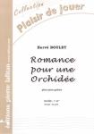PARTITION ROMANCE POUR UNE ORCHIDÉE