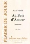PARTITION AU BOIS D'AMOUR