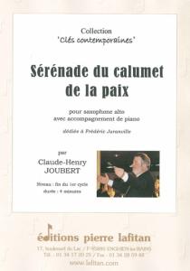 PARTITION SÉRÉNADE DU CALUMET DE LA PAIX