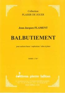 PARTITION BALBUTIEMENT