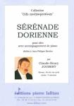 PARTITION SÉRÉNADE DORIENNE