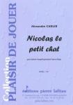 PARTITION NICOLAS LE PETIT CHAT (SAXHORN BASSE)