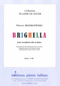 PARTITION BRIGHELLA (SAXOPHONE)