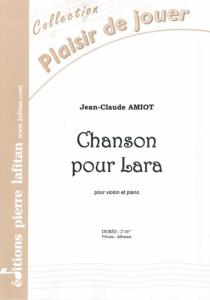 PARTITION CHANSON POUR LARA (VIOLON)