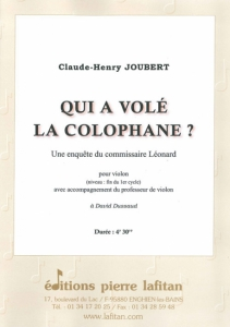 PARTITION QUI A VOLÉ LA COLOPHANE ?