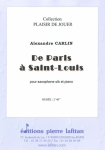 PARTITION DE PARIS A SAINT-LOUIS (SAX Sib)