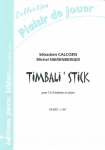 PARTITION TIMBALI ' STICK