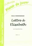 PARTITION LETTRE A ELISABETH