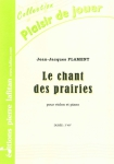 PARTITION LE CHANT DES PRAIRIES (VIOLON)