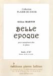 PARTITION BELLE ÉPOQUE (SAX ALTO)