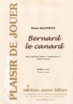 PARTITION BERNARD LE CANARD