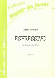 PARTITION ESPRESSIVO (SAX ALTO)