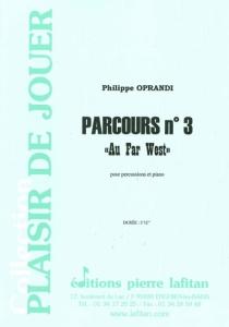 """PARTITION PARCOURS N° 3 """"Au Far West"""""""
