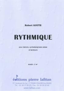 PARTITION RYTHMIQUE (R. GOUTE)