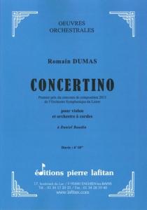 OEUVRE CONCERTINO (VL/ORCHESTRE)