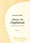 PARTITION CHANSON DES HIGHLANDS (SAXHORN BASSE)
