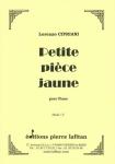 PARTITION PETITE PIÈCE JAUNE