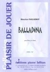 PARTITION BALLADINA