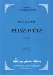 PARTITION PLUIE D'ÉTÉ