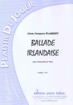 PARTITION BALLADE IRLANDAISE (VIOLONCELLE)