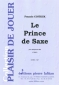 PARTITION LE PRINCE DE SAXE