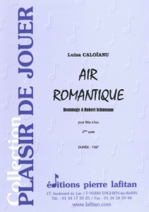 PARTITION AIR ROMANTIQUE (FLÛTE A BEC)