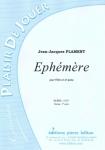 PARTITION EPHEMERE (FLÛTE)