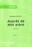 PARTITION AUPRÈS DE MON ARBRE