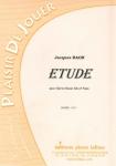PARTITION ETUDE (CLAIRON BASSE)