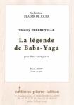 PARTITION LA LÉGENDE DE BABA-YAGA (FLÛTE)
