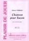 PARTITION CHANSON POUR SUZON (CLARINETTE)
