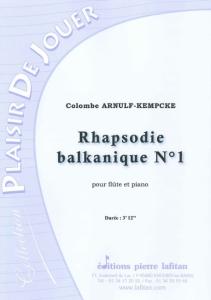 PARTITION RHAPSODIE BALKANIQUE N°1