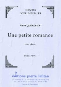 PARTITION UNE PETITE ROMANCE