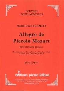 PARTITION ALLEGRO DE PÍCCOLO MOZART