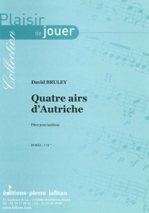 PARTITION QUATRE AIRS D'AUTRICHE