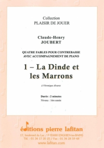 PARTITION LA DINDE ET LES MARRONS