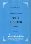 PARTITION POUR DÉBUTER (TAMBOUR)