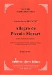PARTITION ALLEGRO DE PÍCCOLO MOZART