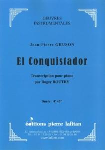 PARTITION EL CONQUISTADOR (PIANO)