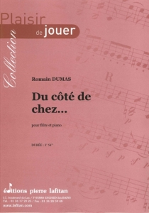 PARTITION DU CÔTÉ DE CHEZ… (FLÛTE)