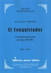 PARTITION EL CONQUISTADOR (PIANO)