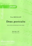PARTITION DEUX PORTRAITS (VIOLON)