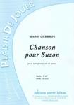 PARTITION CHANSON POUR SUZON (SAX Sib)