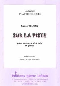 PARTITION SUR LA PISTE (SAXHORN ALTO)