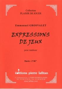 PARTITION EXPRESSIONS DE JEUX